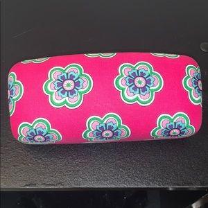 Pink Vera Bradley Sunglass Case